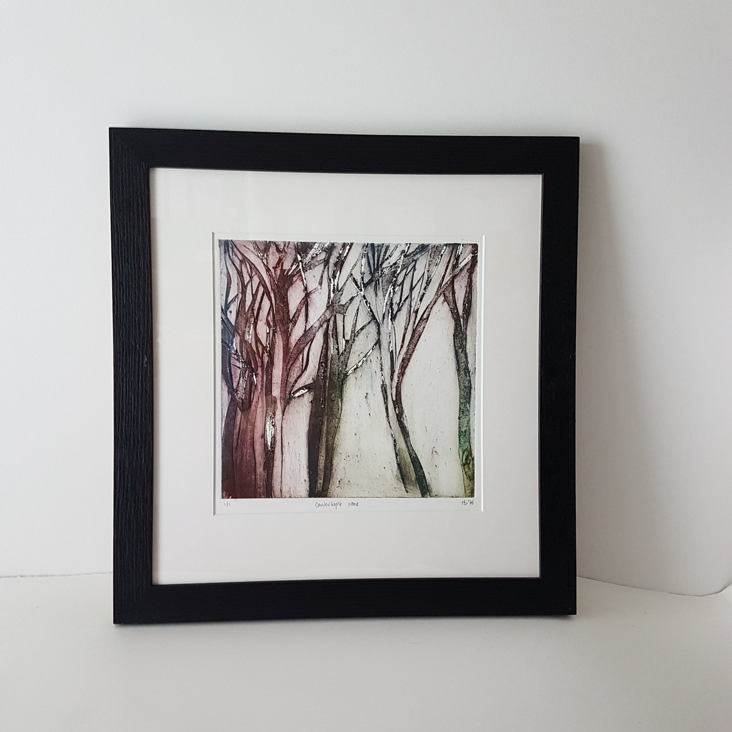 Image of Wood Collagraph series