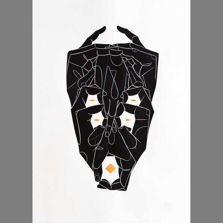 Image of Mask I - original piece