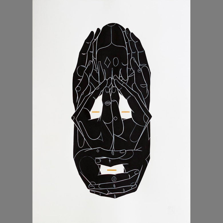 Image of Mask II - original piece