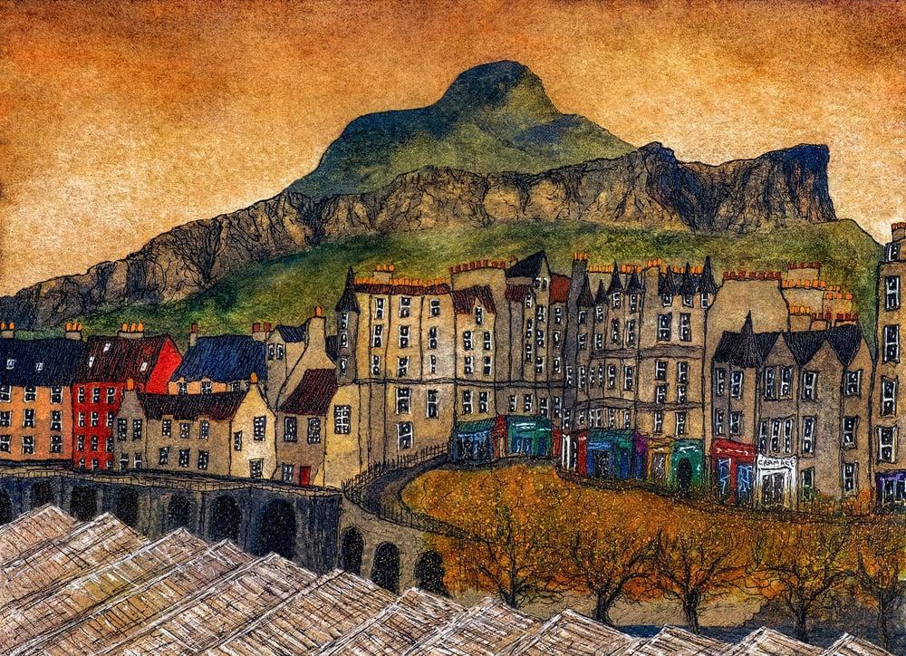 Image of Towards Arthur's Seat, Edinburgh