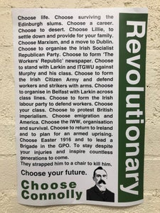 Image of Choose Connolly A2 Poster