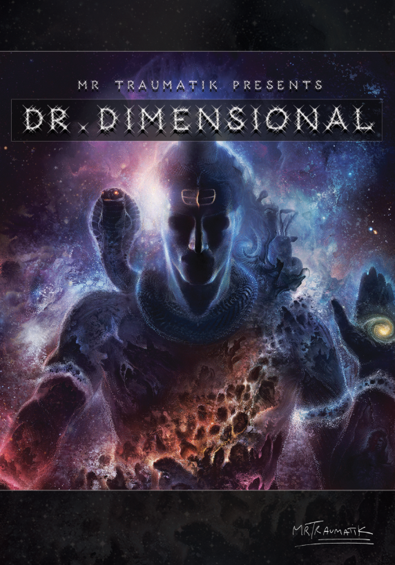 Image of Dr Dimensional - Signed Poster