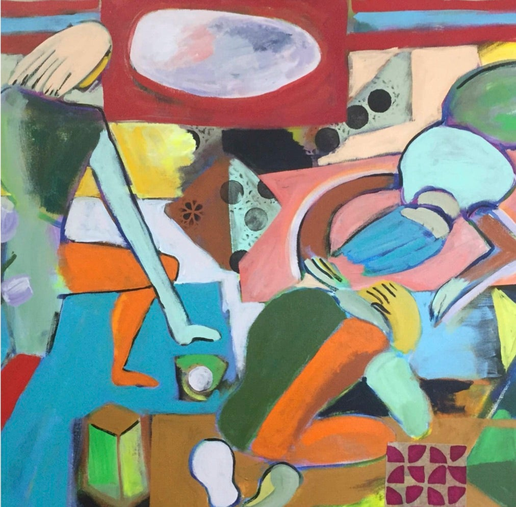 Working Together 2018 paintings
