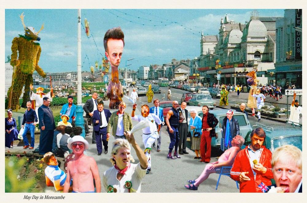 Image of Giant Postcard Art-Piece