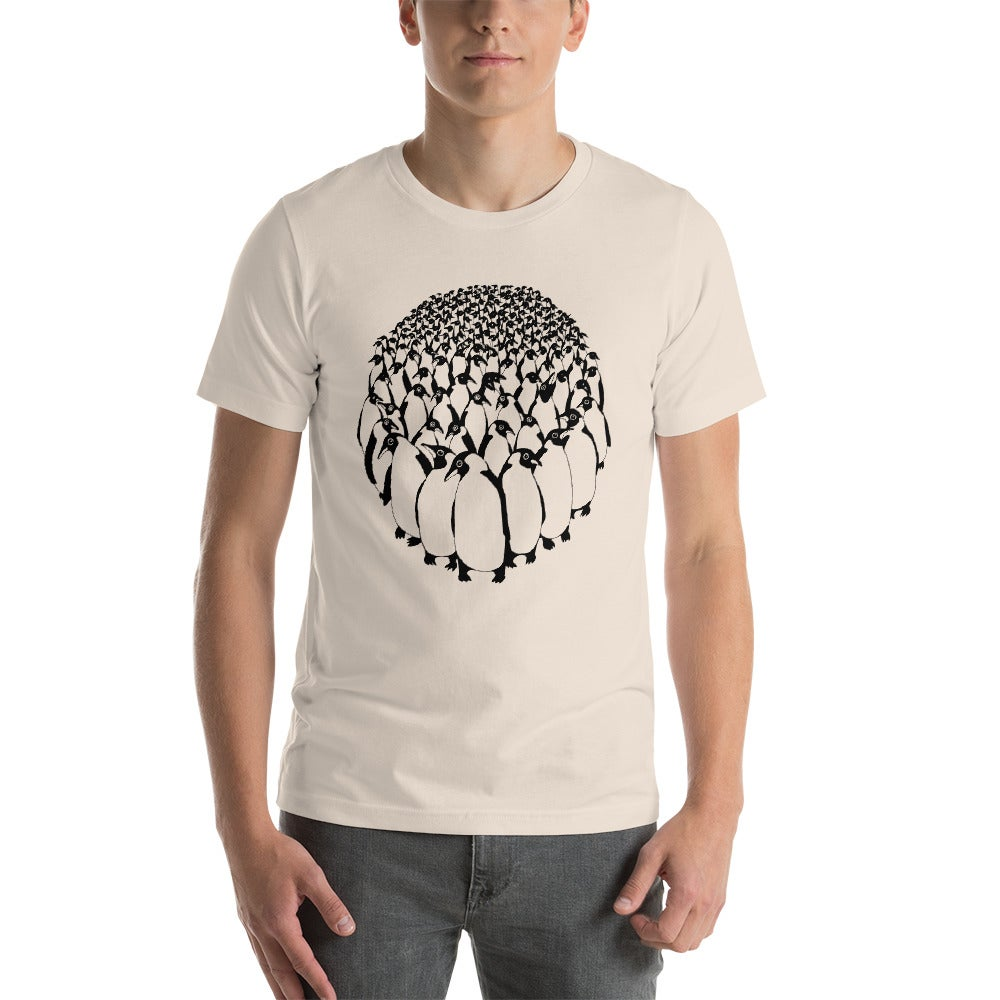 Image of Penguines Unisex T-Shirt