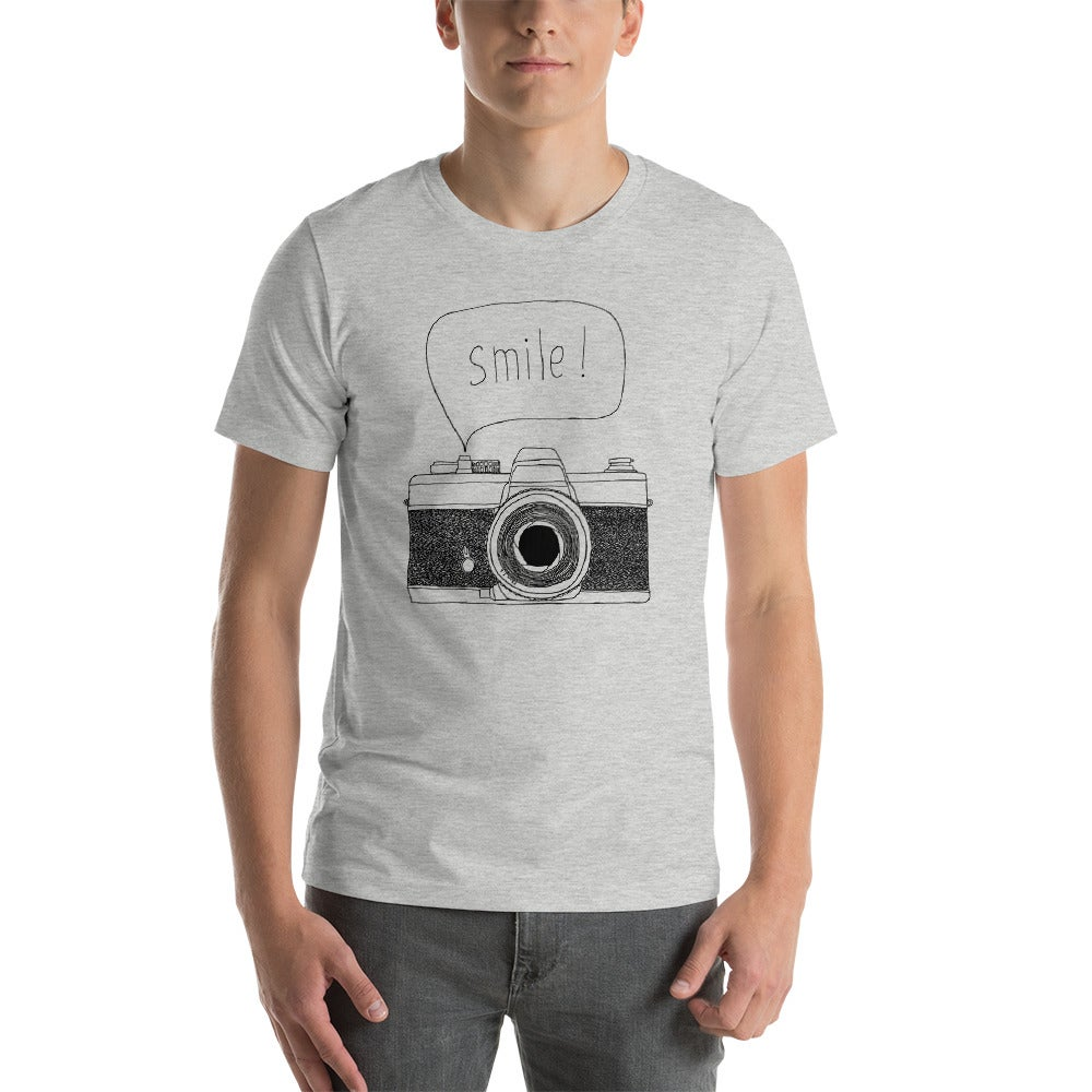 Image of Smile Unisex T-Shirt