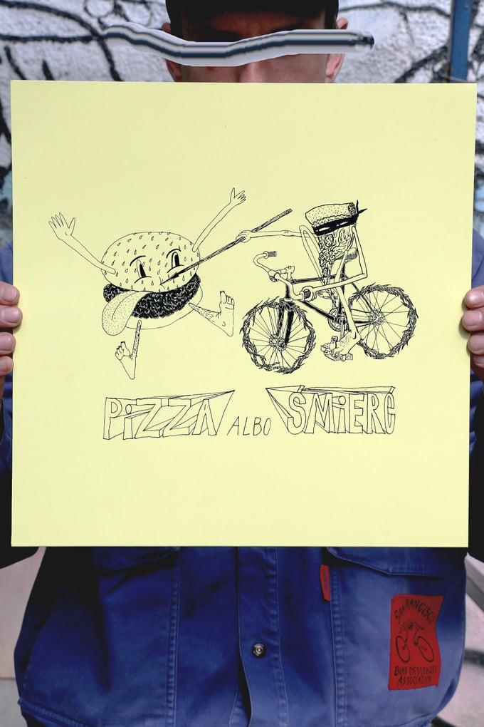 "Image of Gutek ""Pizza Albo Śmierć"" (selfisz)"