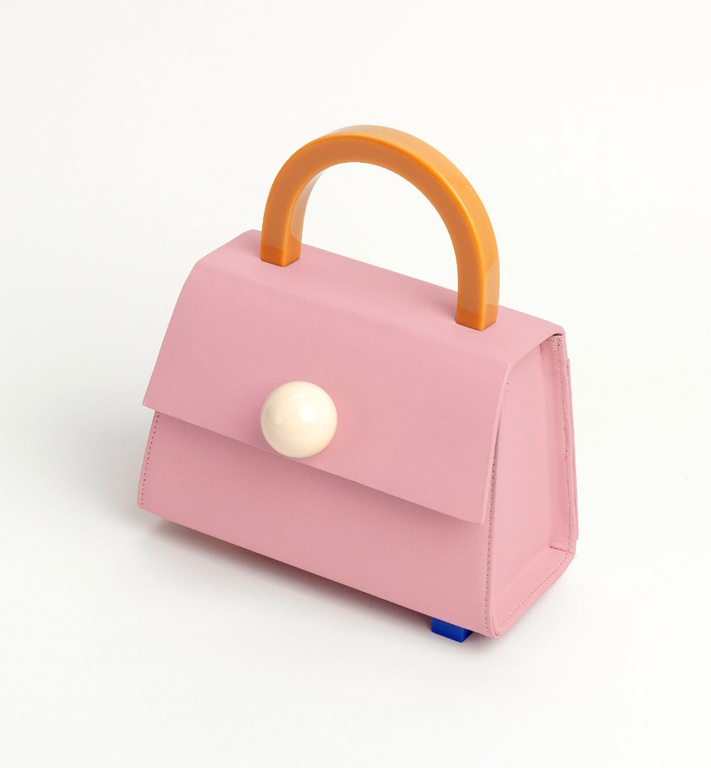 Diva satchel bag • Pink with strap - Limited quantities