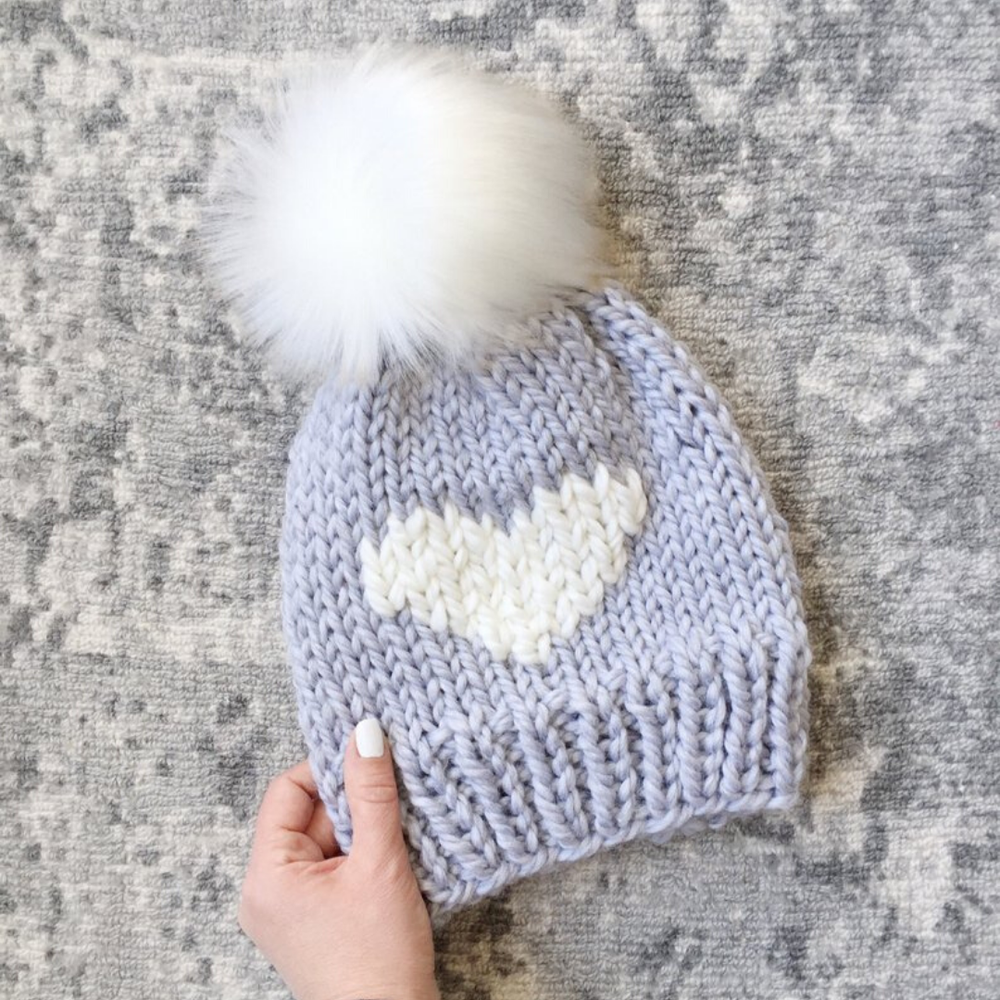 Image of Big Love Beanie Knitting Pattern PDF Download