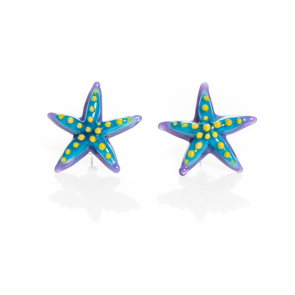 Image of starfish earrings