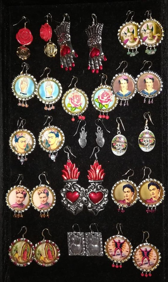 Image of Assorted ~ arretes earrings