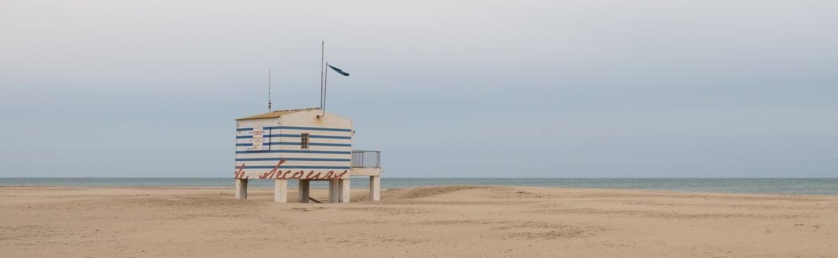 Beach hut - Gruissan, France