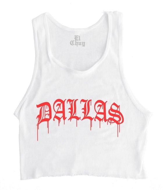 Image of DALLAS DRIP TANK TOP