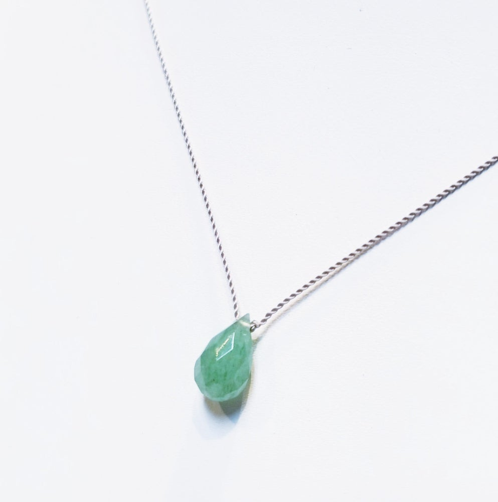 Image of Aventurine Whisper Necklace