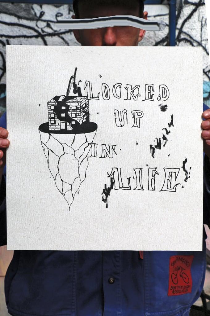 """Image of HoodMood """"Locked Up In Life"""" (selfisz)"""