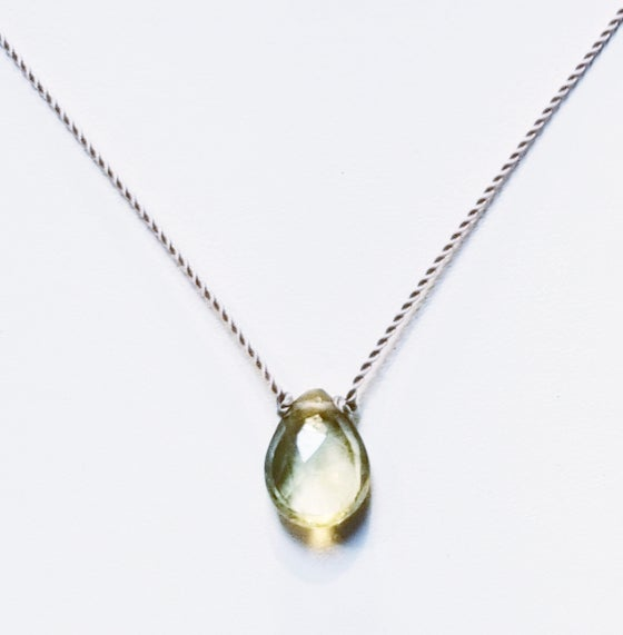 Image of Lemon Citrine Whisper Necklace