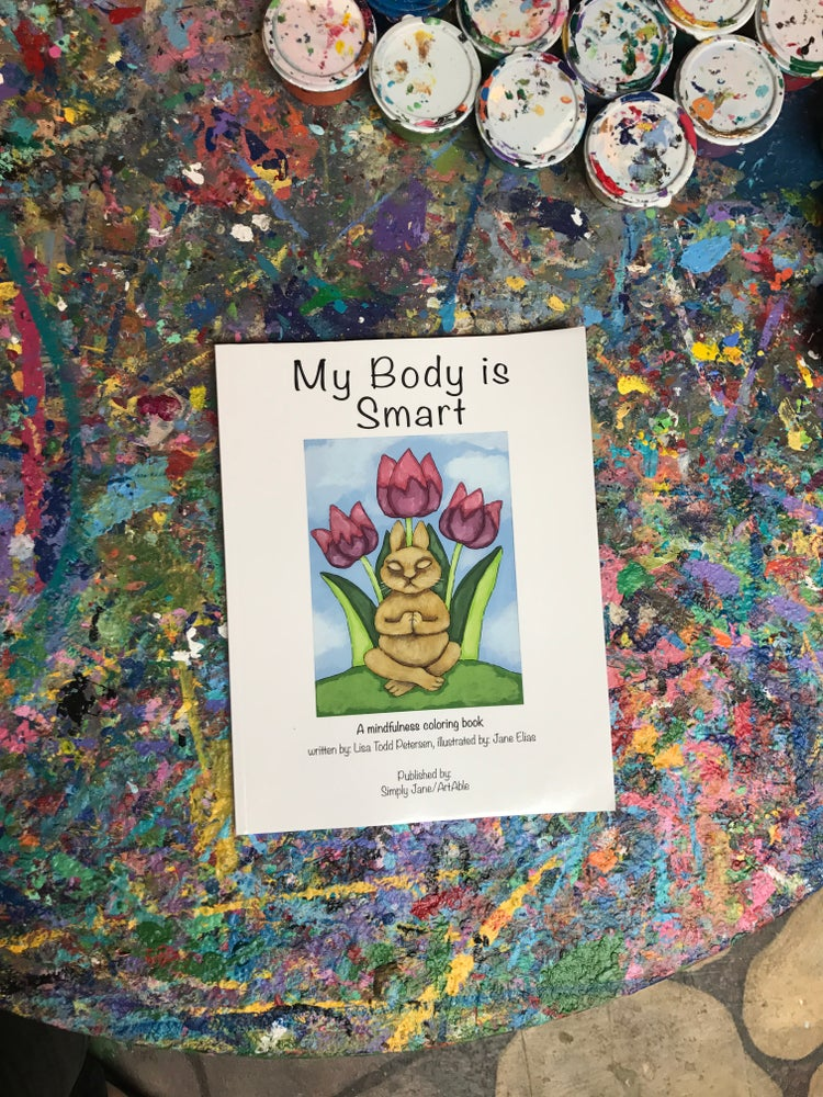 Image of Coloring Book - My Body Is Smart
