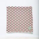 "Image 1 of Cuello ""Geometric print"" coral / Buf ""Geometric print"" coral"
