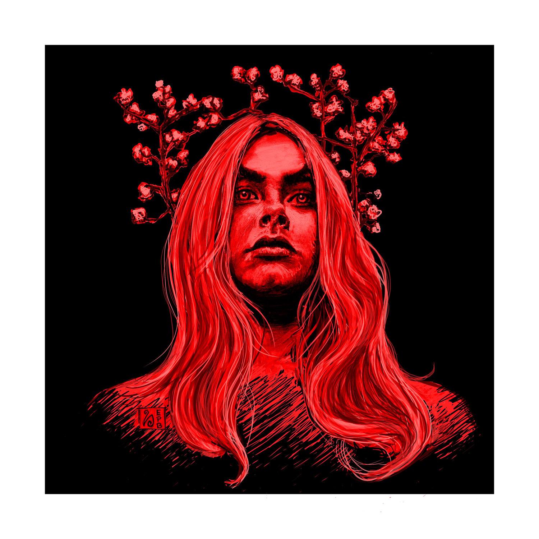 Angel Colour Giclée Print