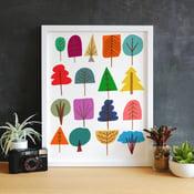 Image of 17 Trees Art Print - New!