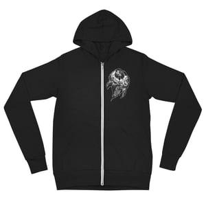NO GOD Unisex zip hoodie