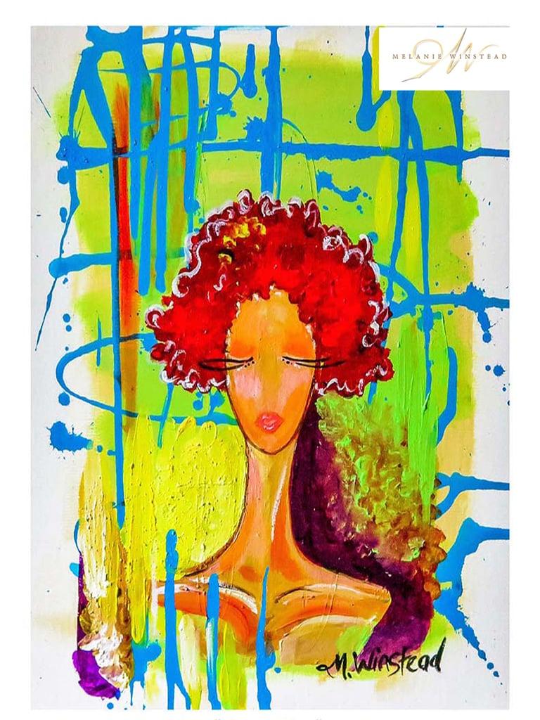 """Image of """"Queen Dea"""" Print"""