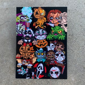 "Image of PeekaBOO All Over 5x7"" Print"