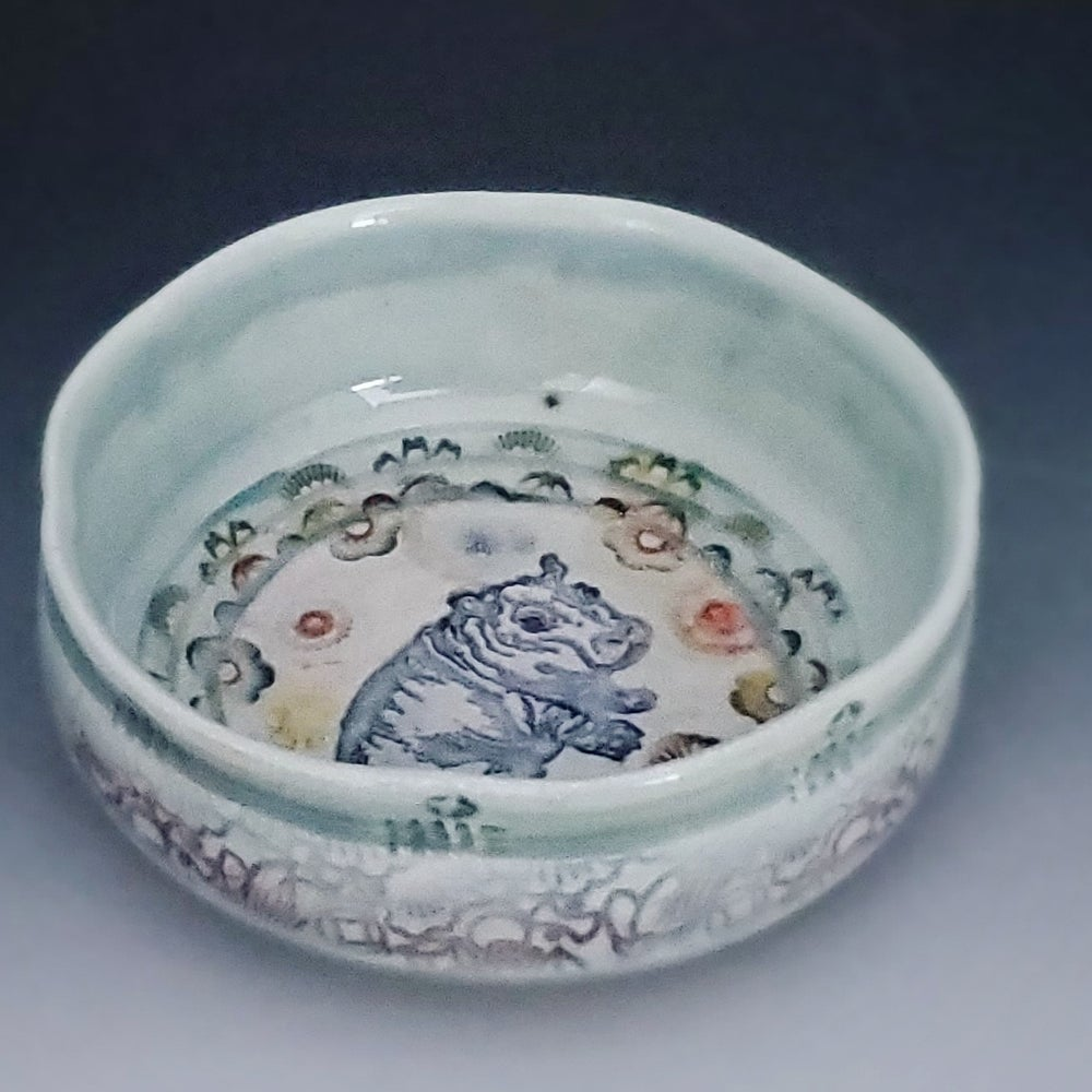 Image of Roly Poly Baby Hippo Dish