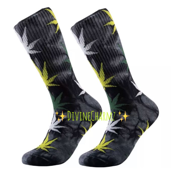 Image of Tie Dye 4/20 Socks