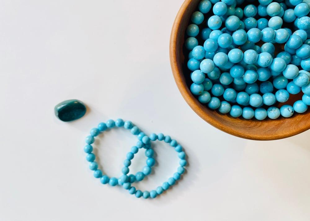 Image of Turquoise Gemstone Bracelet