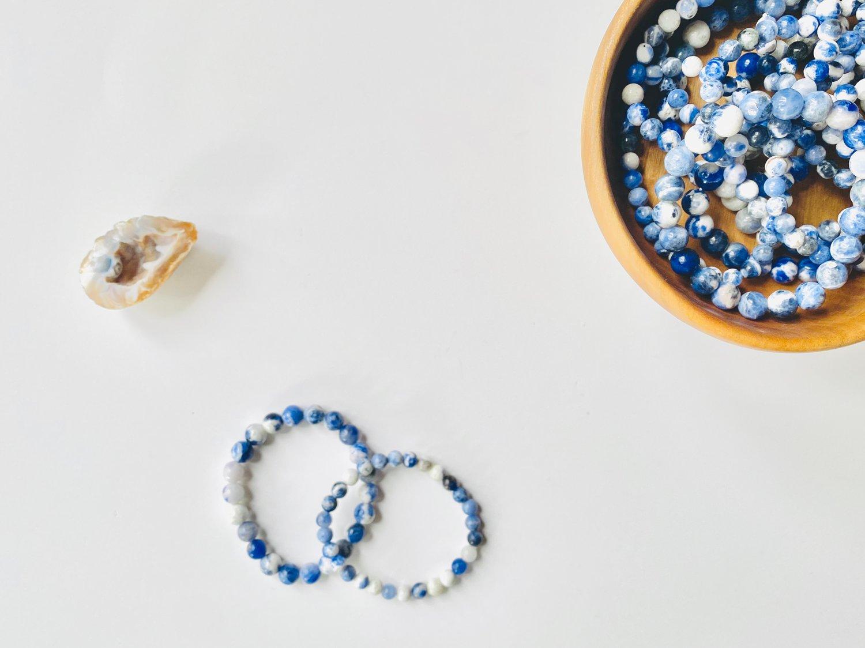 Image of Sodalite Gemstone Bracelet