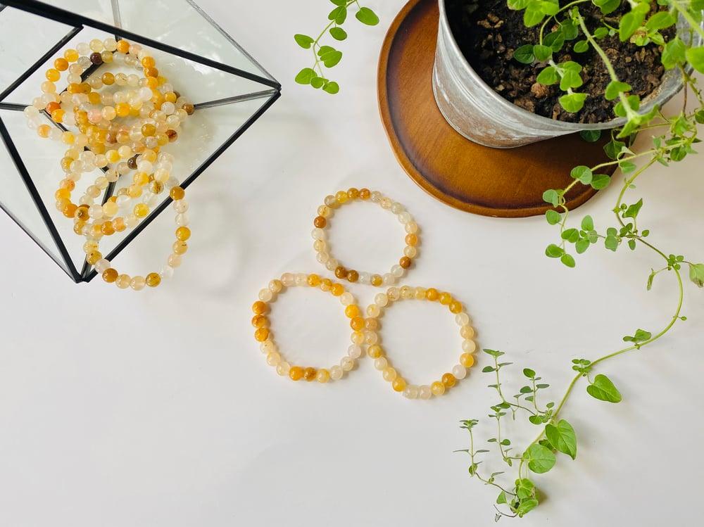 Image of Citrine Gemstone Bracelet