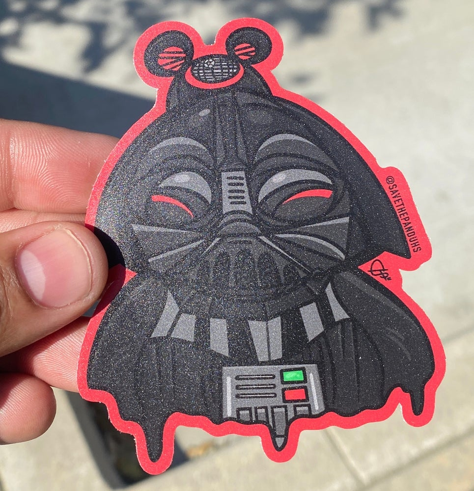 "Image of Darth Panduh 4"" Sticker"