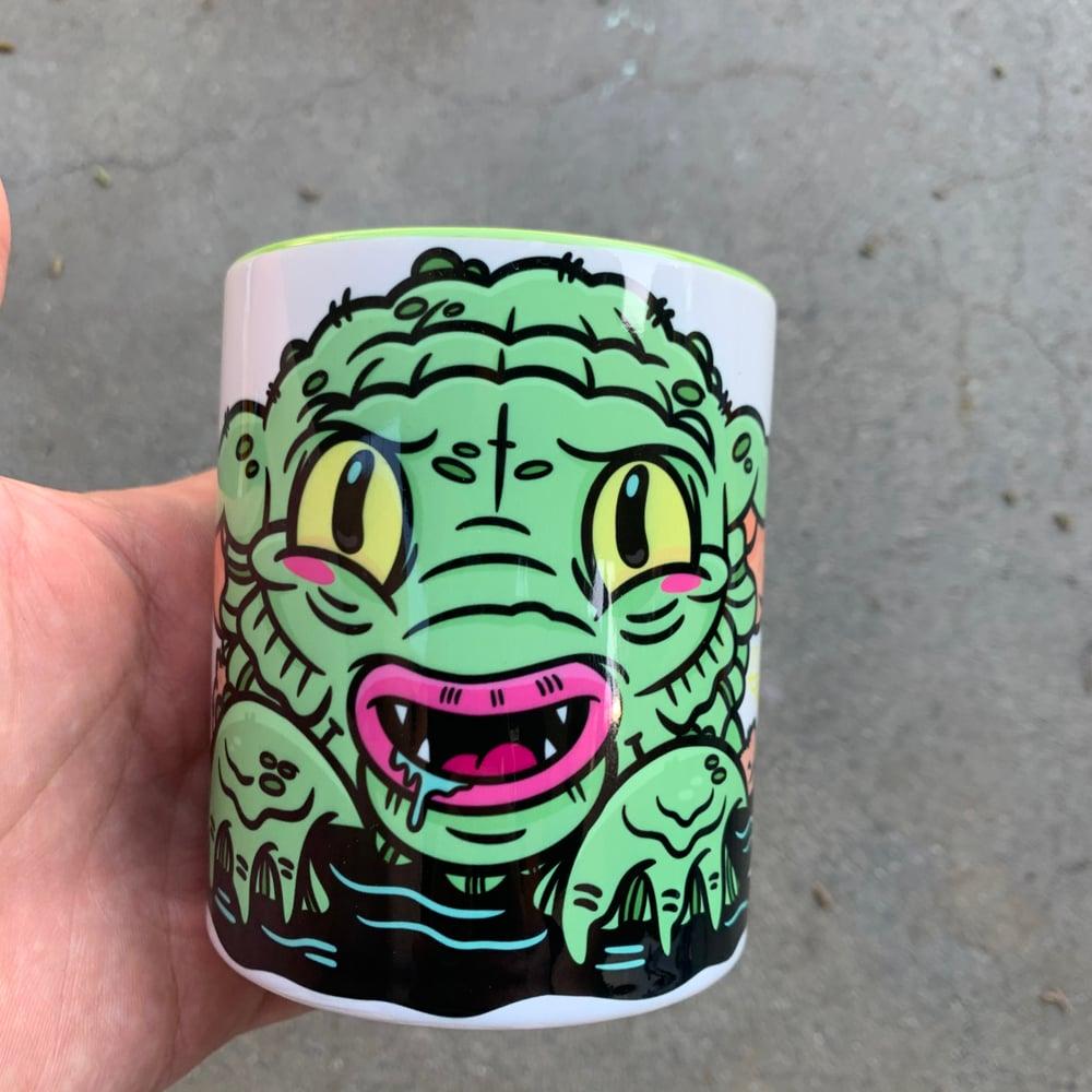 Image of Baby Yoda Creature 11oz Mug