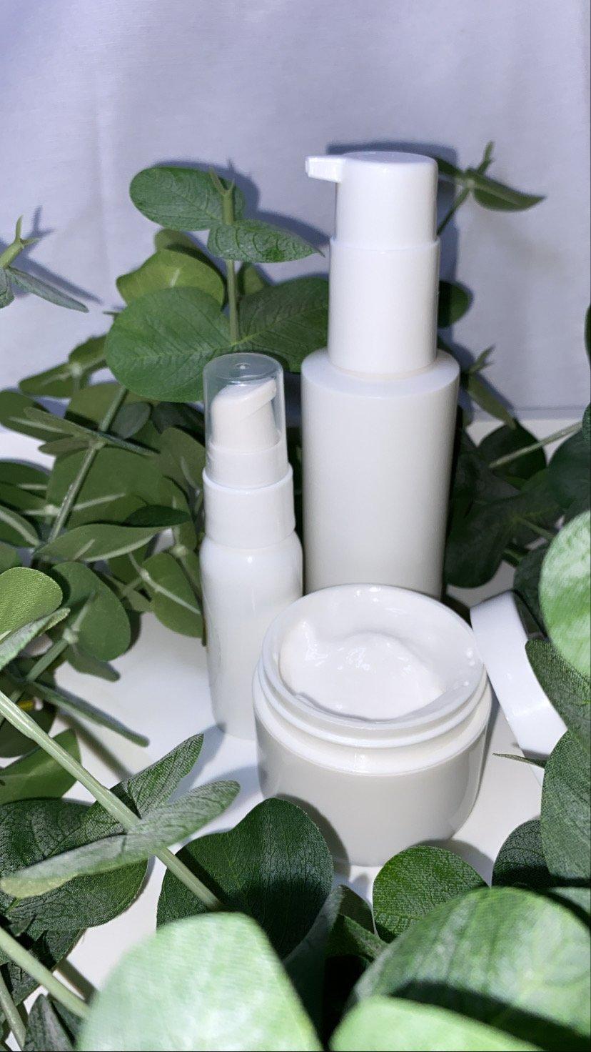 Image of Alaia's Organics Green Tea Cleaner, Facial Moisturizer & Eye Serum
