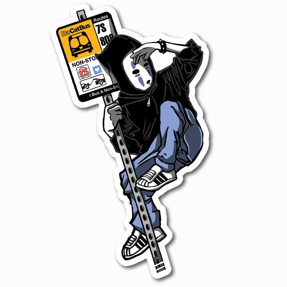 Image of No-Face aka Kaonashi Sticker