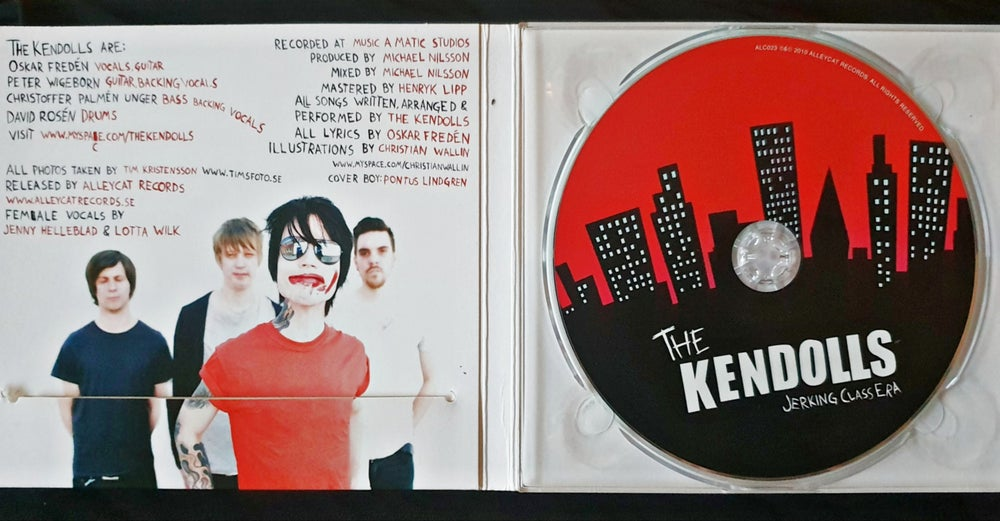 The Kendolls - Jerking Class Era (CD)