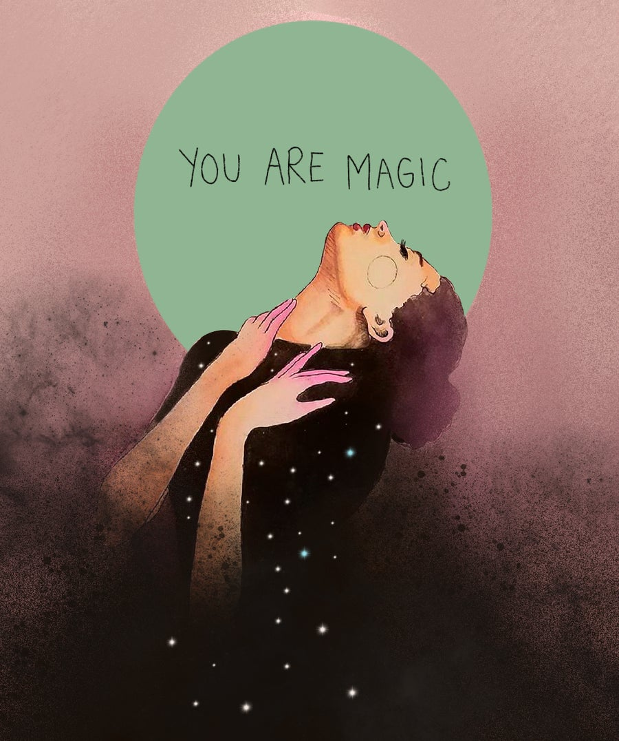 Image of You are magic+ stars