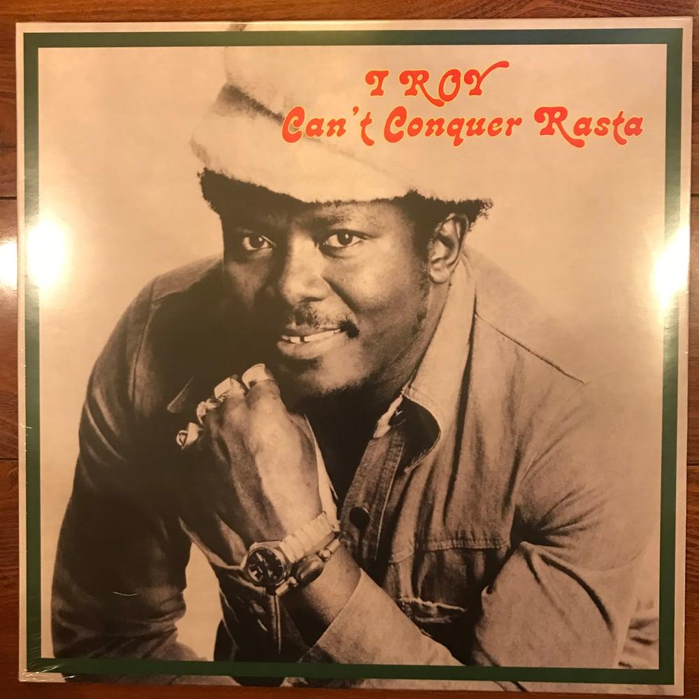 Image of I-Roy - Can't Conquer Rasta Vinyl LP