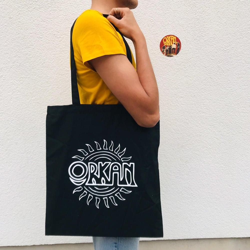 Orkan - Sun Logo Tote Bag
