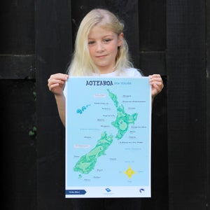Te Reo Māori - A3 Poster - New Zealand