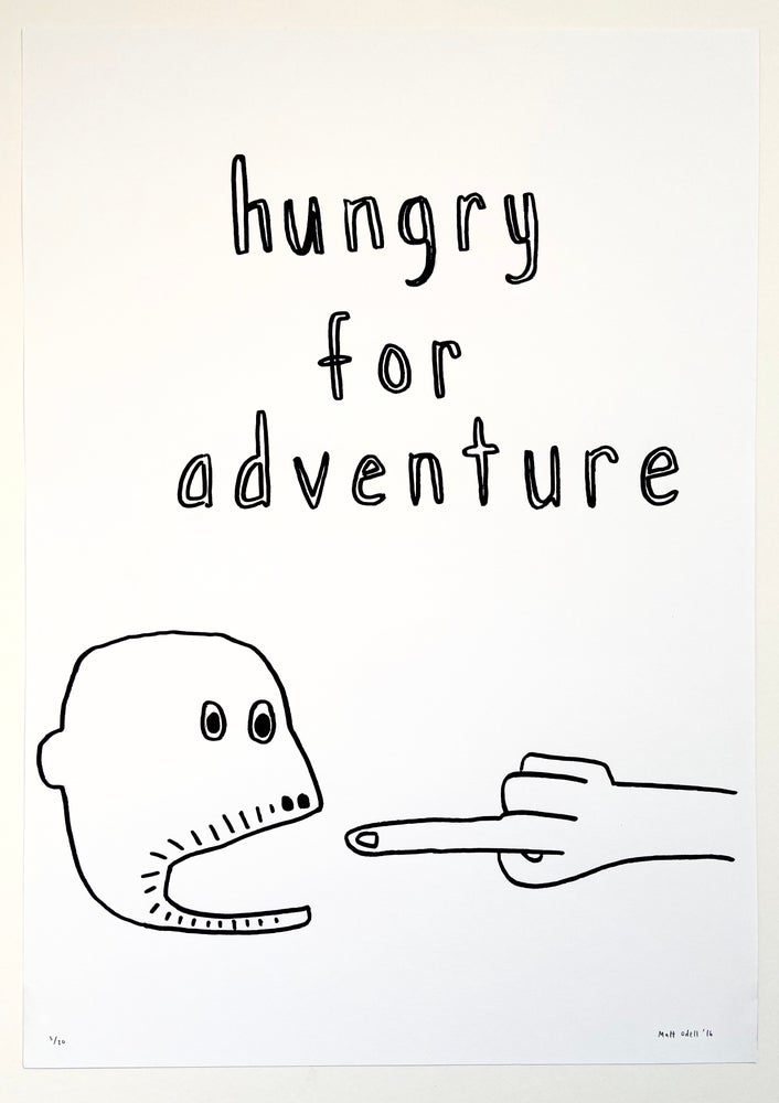 Image of Hungry for Adventure by Matt Odell