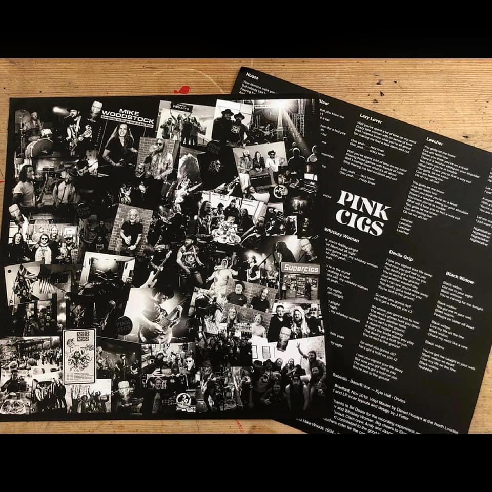 "Pink Cigs - Pink Cigs LTD Edition 12"" LP"