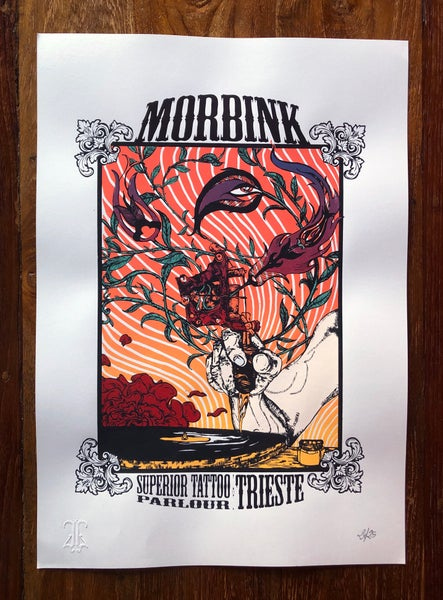 Image of Morbink Tattoo Parlour official print