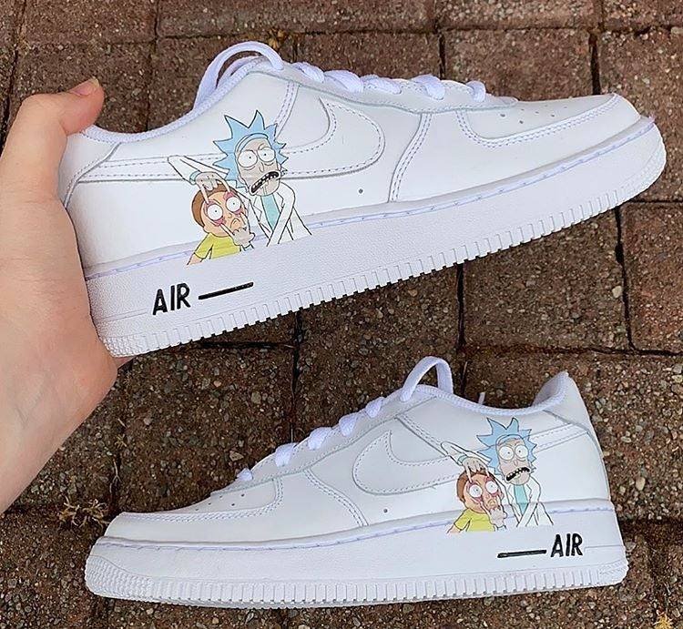Air Force 1 Rick And Morty | CustomsByLeo