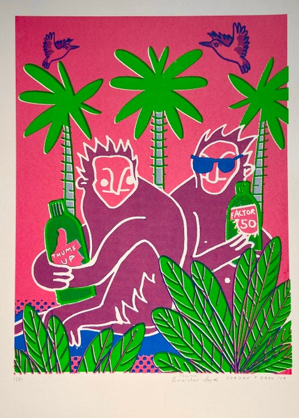 Image of Monkeys On Holiday  by Charlie Evaristo-Boyce and Jordan T Gray