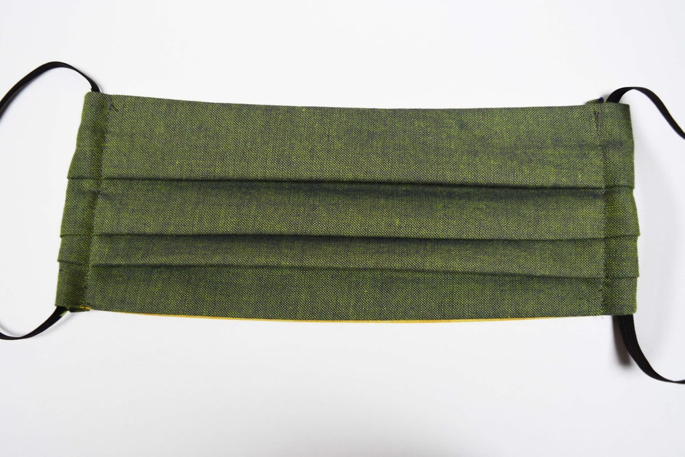 Image of Green Fabric Face Mask
