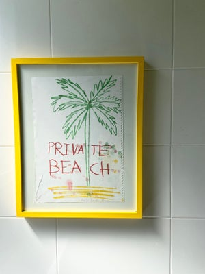 Image of Private Beach Monoprint