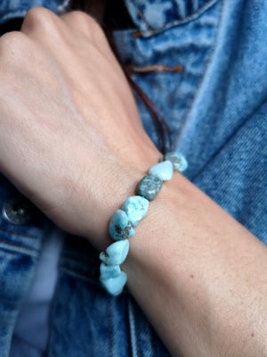 Image of Bracelet Larimar - taille S
