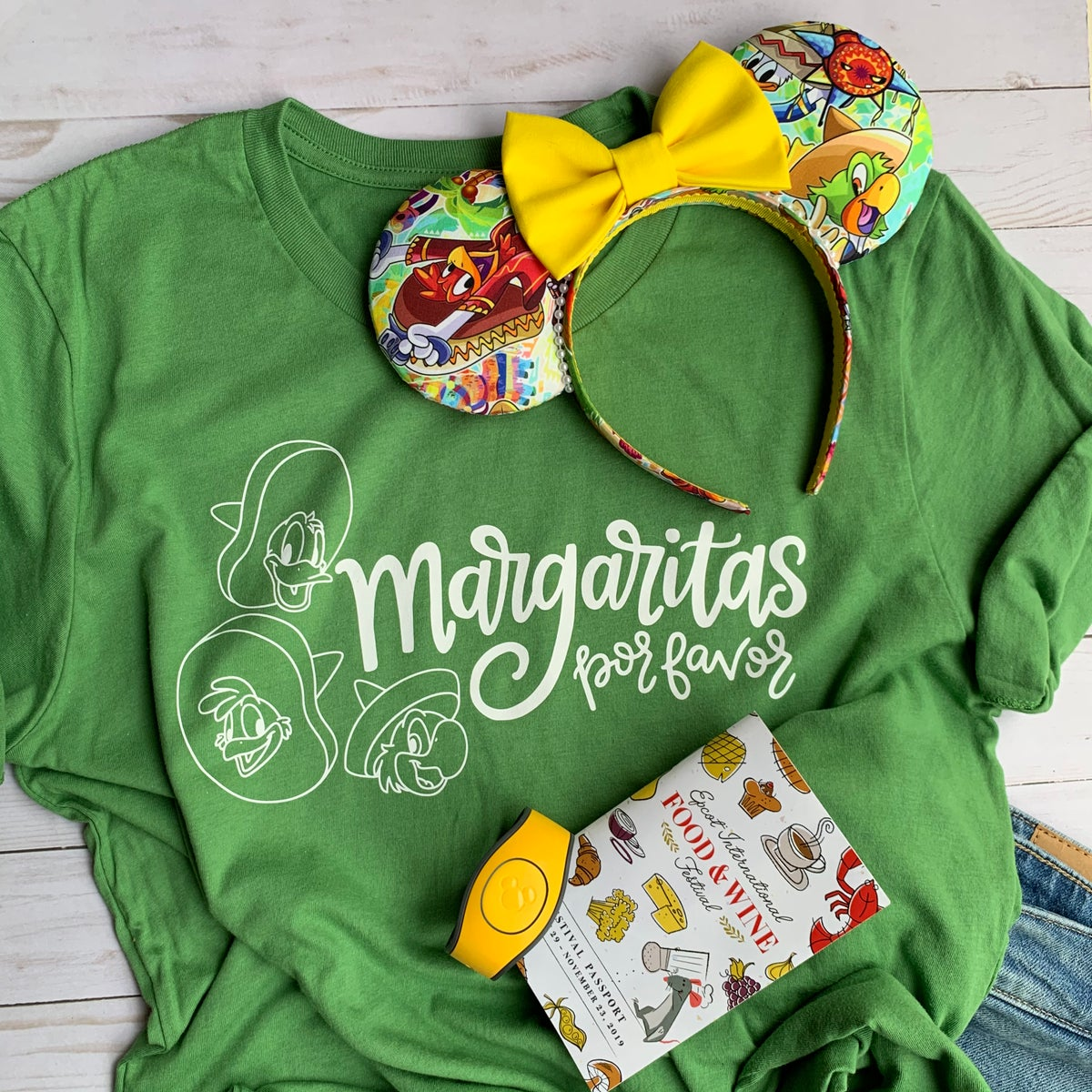 Image of Three Caballeros Tee